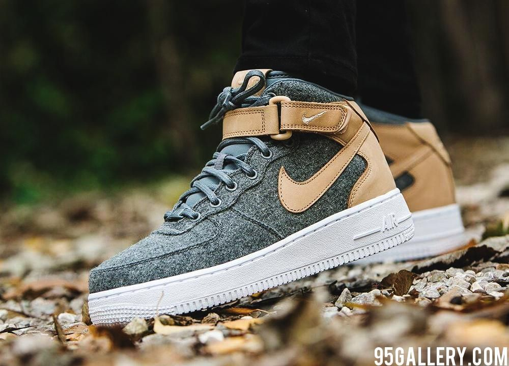 promo code de507 f21bf Nike Wmns Air Force 1 07 Mid Leather Premium http   www.95gallery