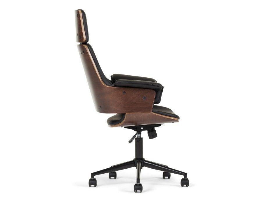 Adena Chaise De Bureau Noir Fauteuil Bureau Design Fauteuil