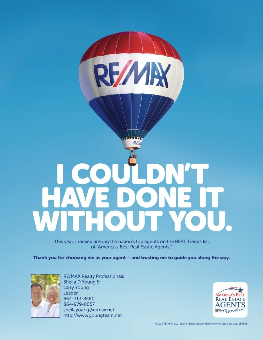 Thank You Remax, Real estate agent, Top agents