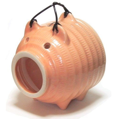 New-Coil-case-holder-Pig-Pottery-Pretty-Japan-Mosquito-Repellent
