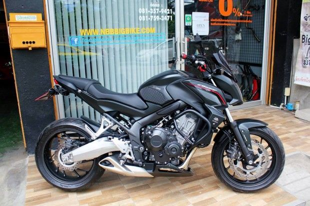 HONDA CB650f Abs 2015 BLACK 39000