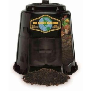 Home Depot Compost Bin The Earth Machine 80 Galcomposter  Composters Gardens And Composting