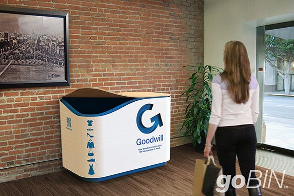 SFGoodwill goBIN Easy Donation for Apartment and Urban Dwellers