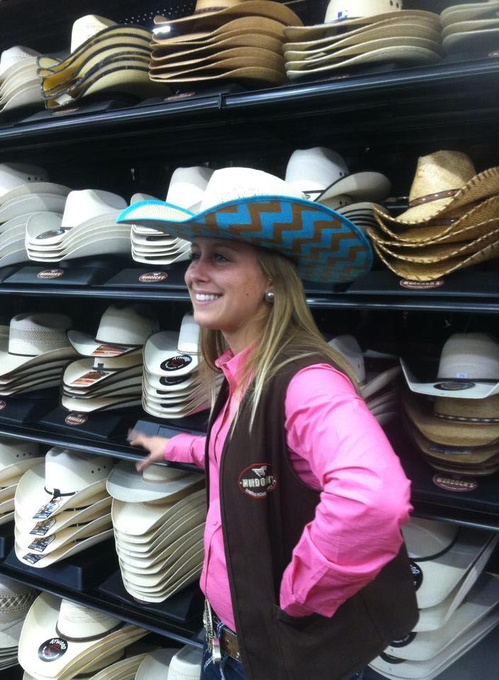 dd9fa378a4c5b0 DIY Painted Cowboy Hat   Products I Love   Cowboy hats, Custom ...