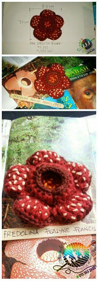 Crochet mini rafflesia flower by fff kait bunga pakma rafflesia crochet mini rafflesia flower by fff kait bunga pakma rafflesia bunga pakma ccuart Gallery