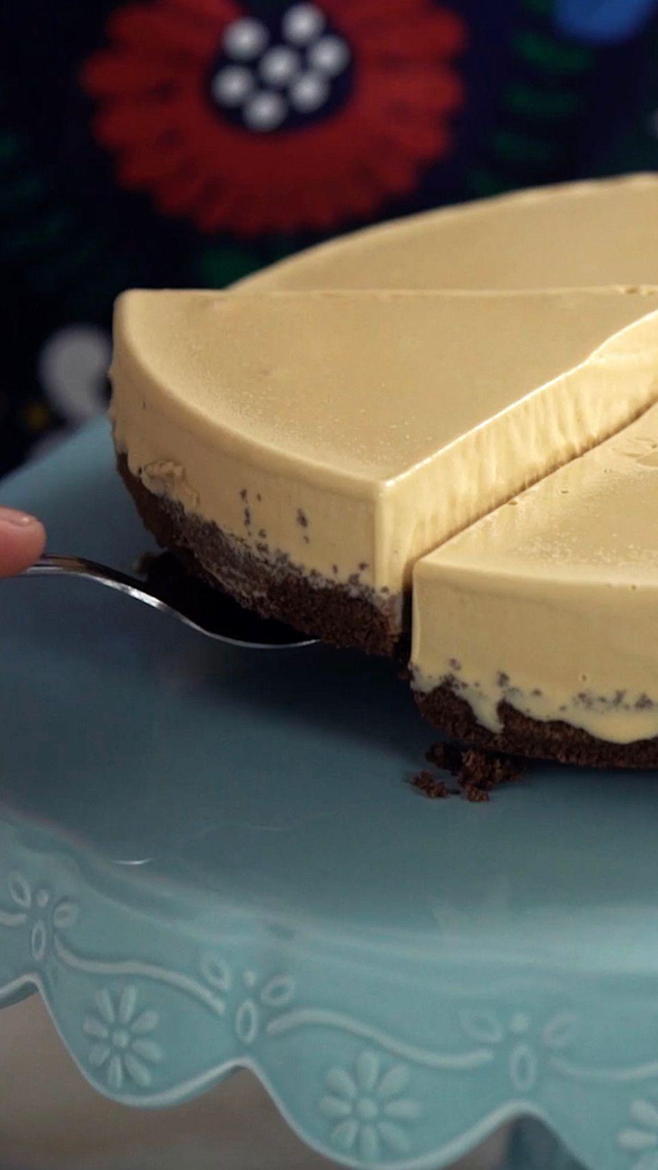 Cheesecake de Doce de Leite ~ Receita