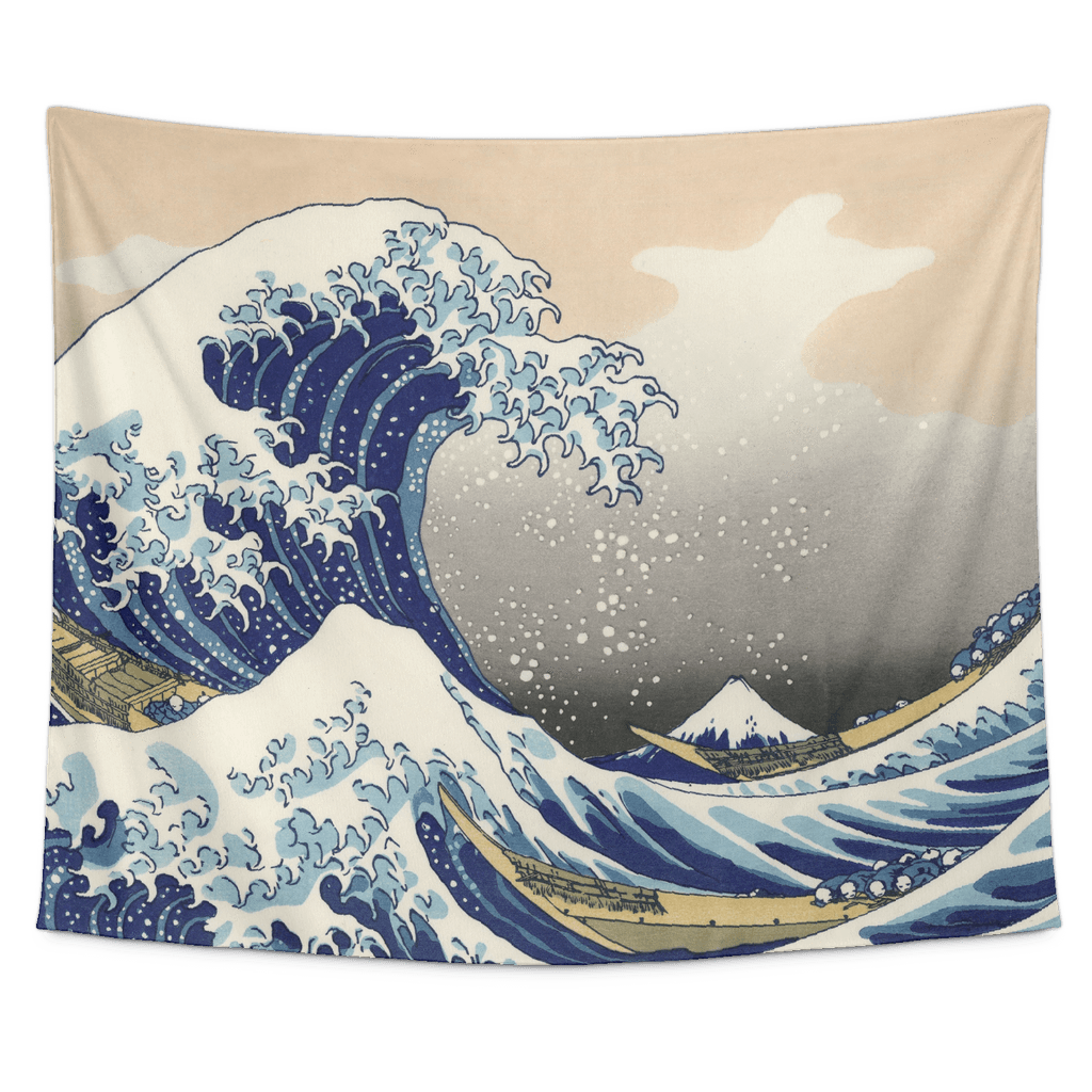 The Great Wave Kanagawa Tapestry Wall Hanging In 2019