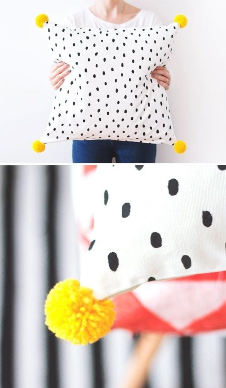 Kissenbezüge nähen ist eine leichte Aufgabe - DIY Projekte | Kissen ...