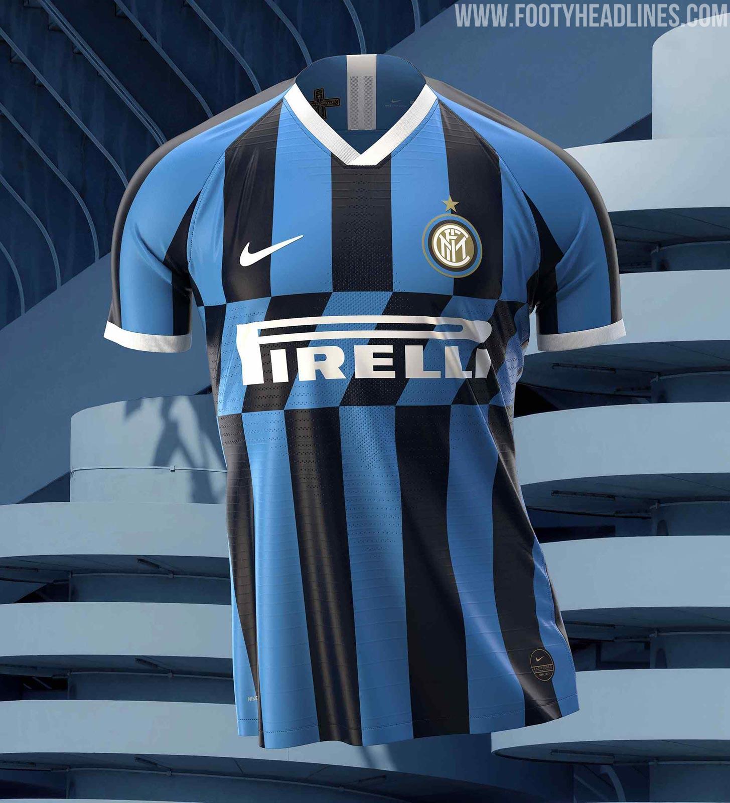 Inter Milan 19-20 Home Kit Revealed - Footy Headlines | Squadra di ...