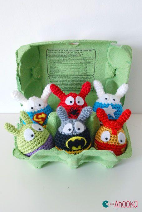 Easter Superheroes are back : Avengers vs DC Comics [crochet ...