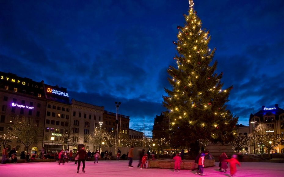 malm sweden best places to spend christmas travel leisure - Best Places To Travel For Christmas