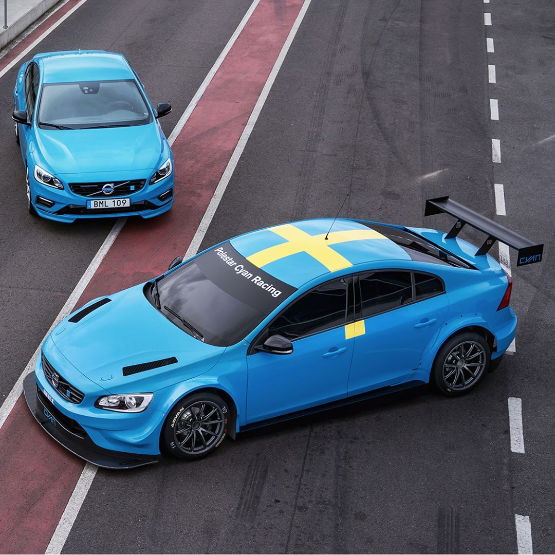 The volvo s60 polestar cutting edge technology in motorsport and for the road