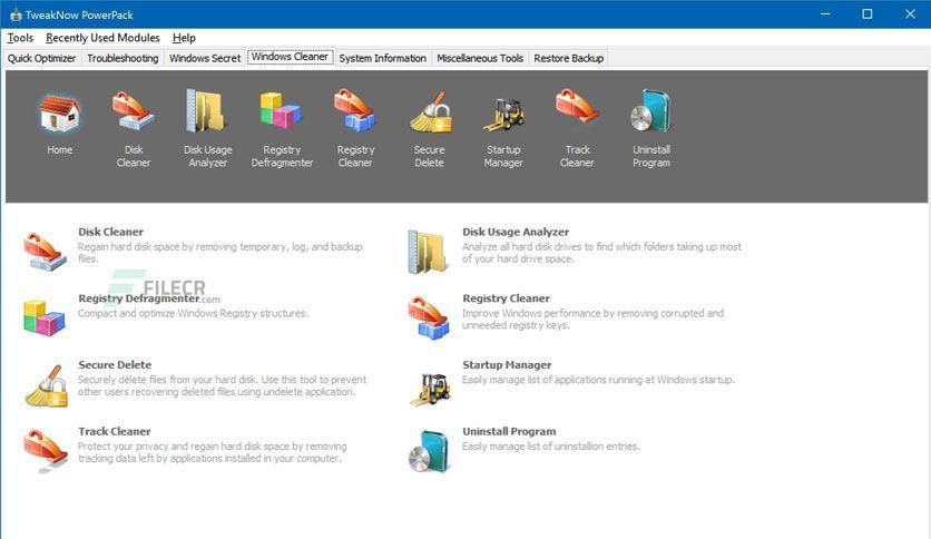 Tweaknow Powerpack 4 6 0 Free Download In 2020 Free Download