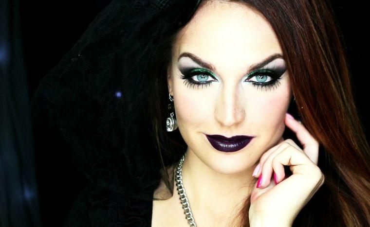 maquillaje de bruja guapa Decoracin para Halloween Pinterest