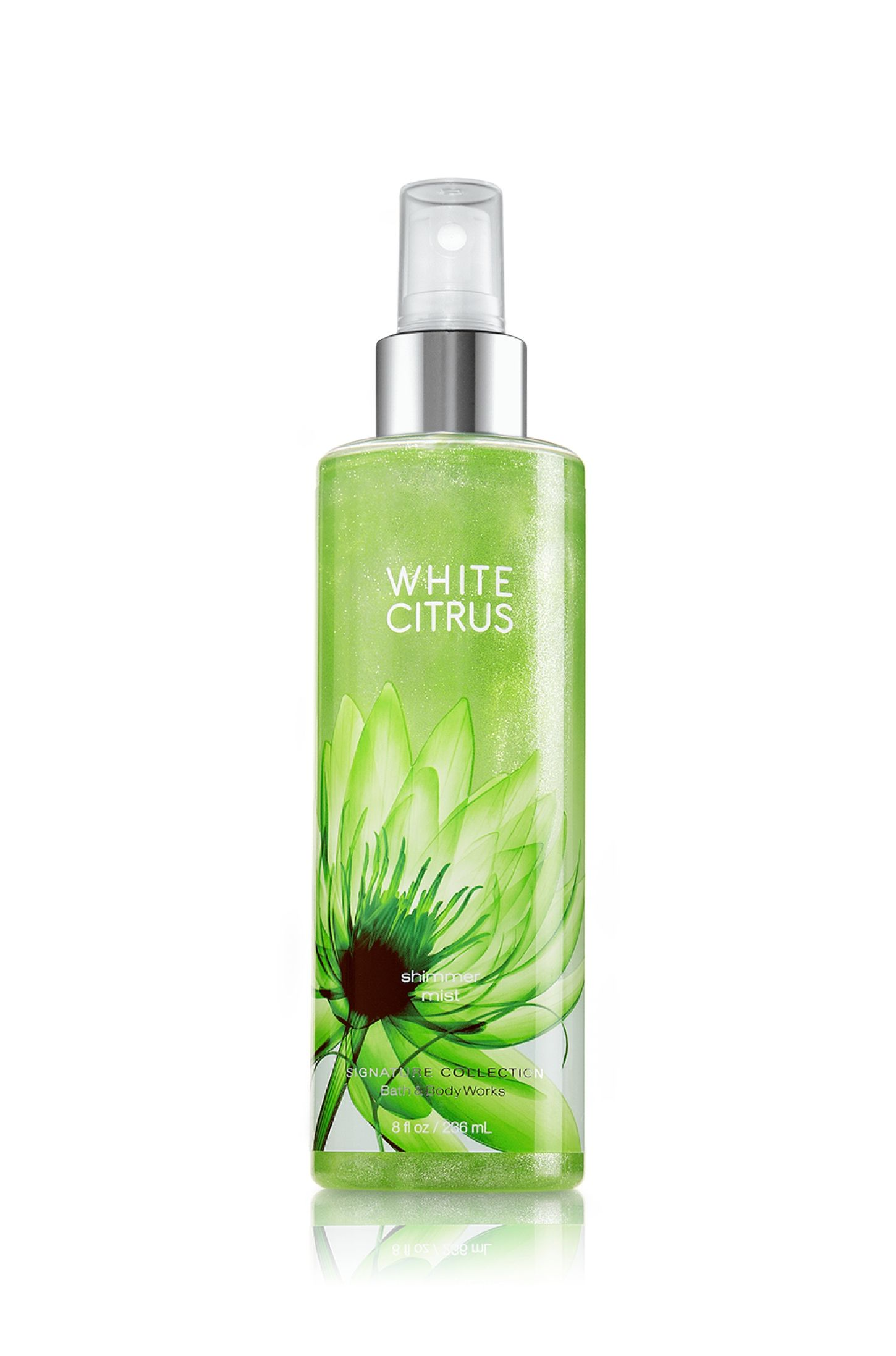 White Citrus Shimmer Body Mist Signature Collection Bath
