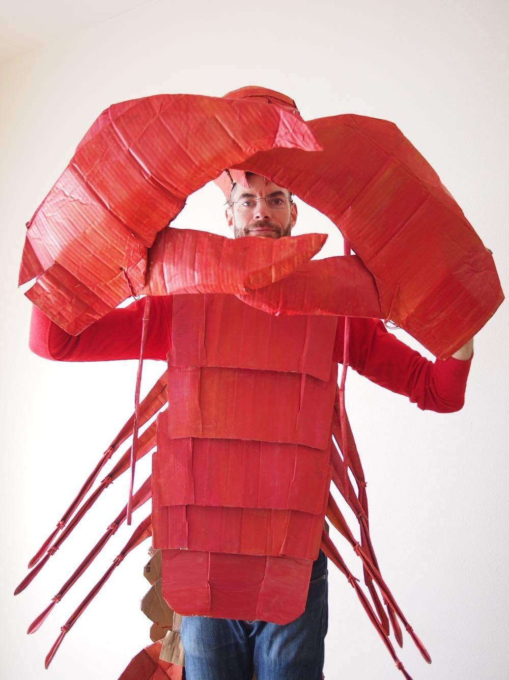 The Cardboard Collective: Cardboard Lobster Costume ...