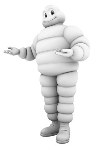 Image result for tire michelin man
