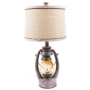 Vintage Lantern Lamp Rustic Lanterns Table Lamp Vintage
