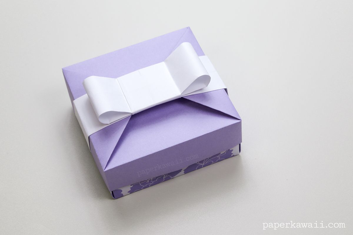 Origami Gift Box Mix Match Lids Pinterest Origami Gifts