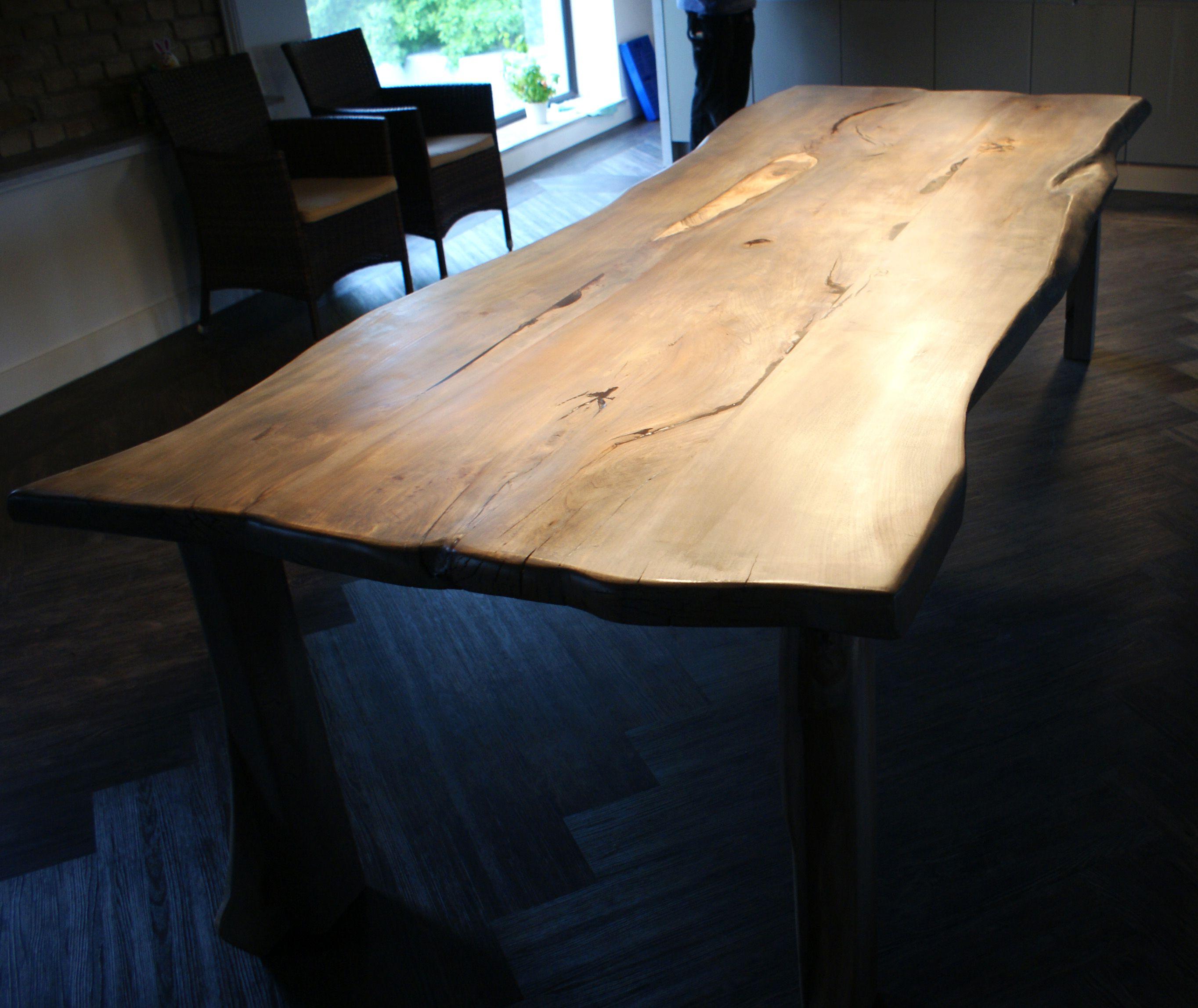 Holztisch rustikal  Schön esstisch holz grau | Einrichten und Wohnen | Pinterest ...