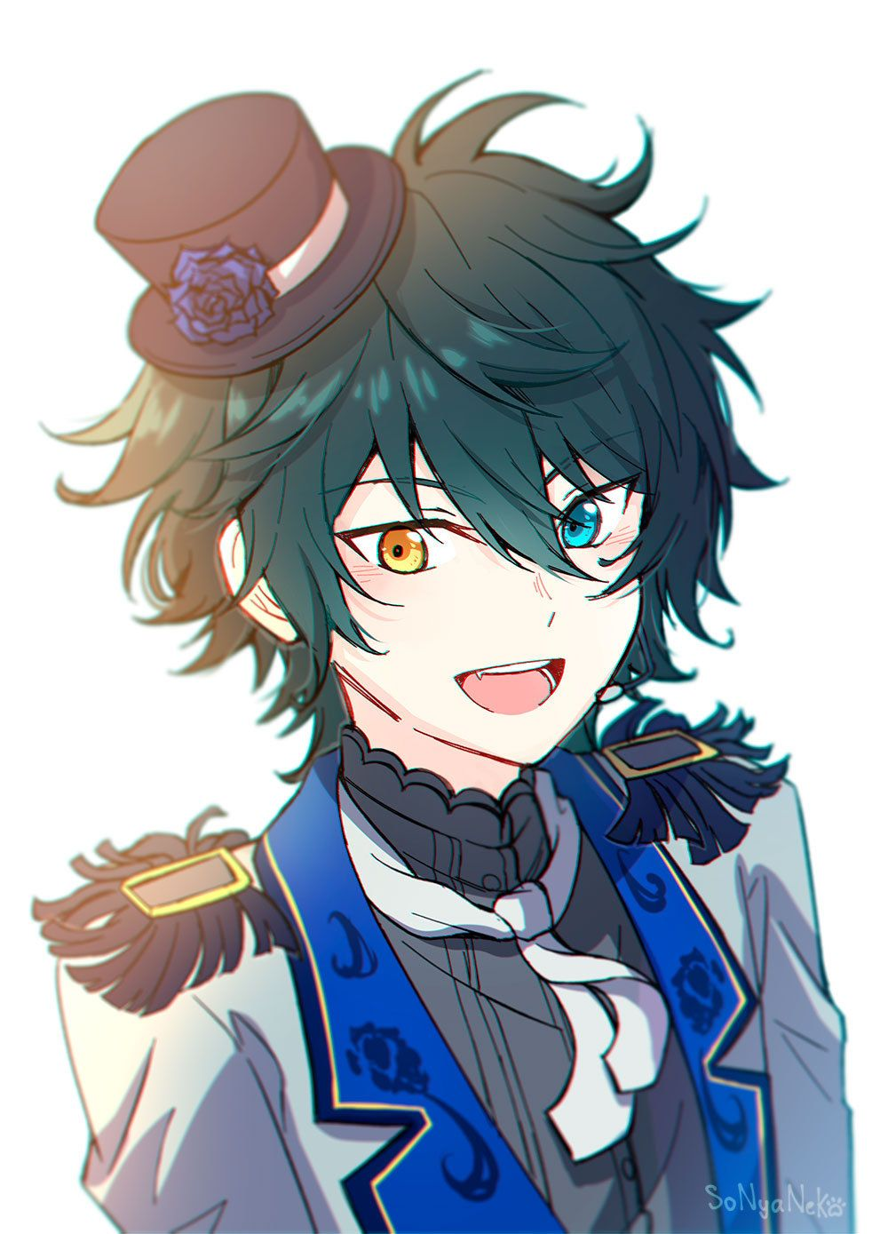 Mika Kagehira Anime boy hair, Cute anime guys, Anime circus