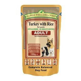James Wellbeloved Complete Turkey Wet Adult Dog Food 10 X 150g Pouches Listing In The Other Food Dogs Pets Ho Dog Food Recipes Compare Dog Food Dog Food Online