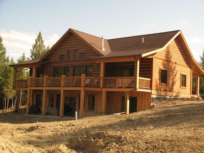 The beauty of a log homes alberta is something that must Pre cut homes