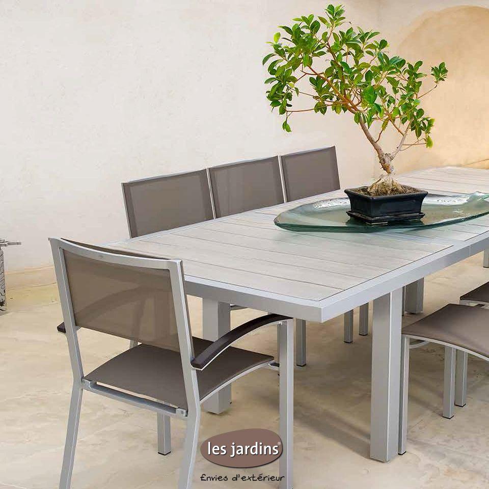 Dripper Hpl Collection Avec Extensible Aluminium Lattes Table mwvNn80