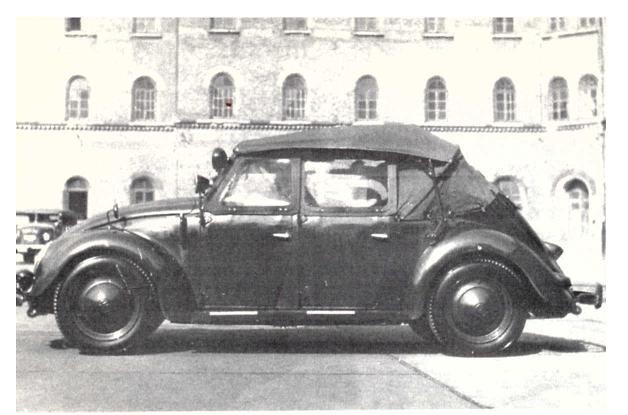 Vw Typ 18a Auto Para La Policia De Viena Fabricado Por La Austro