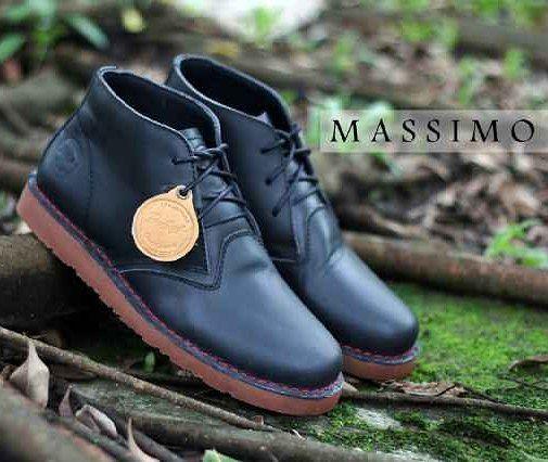 Dropsip N Reseller Welcome Bradleys Massimo Black Mat 90 Kulit