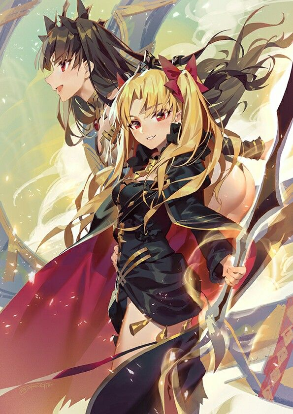 Tohsaka Rin Ereshkigal Ishtar Fate Grand Order Anime Fate Anime Series Fate Stay Night Anime Ishtar is widely known as the goddess of abundant harvests and beauty. ishtar fate grand order anime