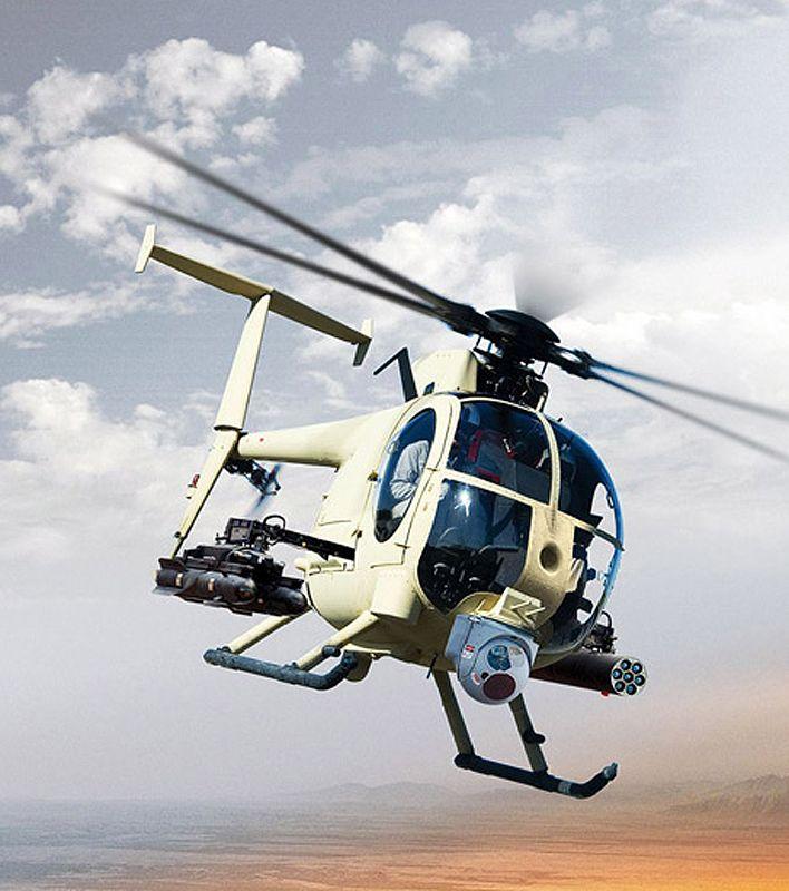Helicóptero de ataque AH-Luz 6 / MH-6 \