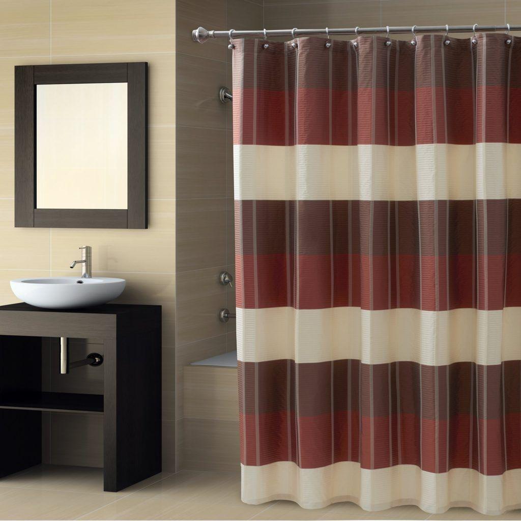 Croscill Fairfax Slate Shower Curtain