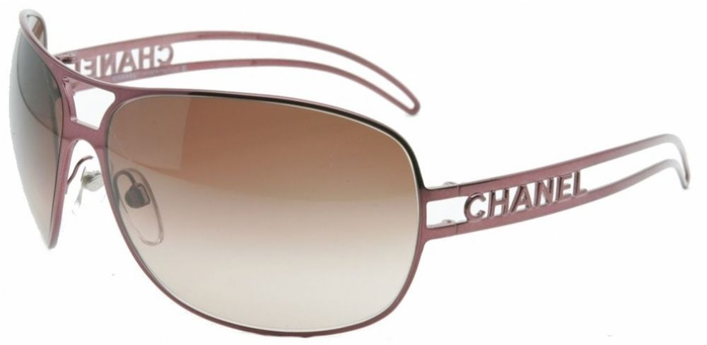 3addb6476e7d CHANEL 4150 Sunglasses BRONZE New Old Vintage Aviator With Case Authentic  Chanel  CHANEL