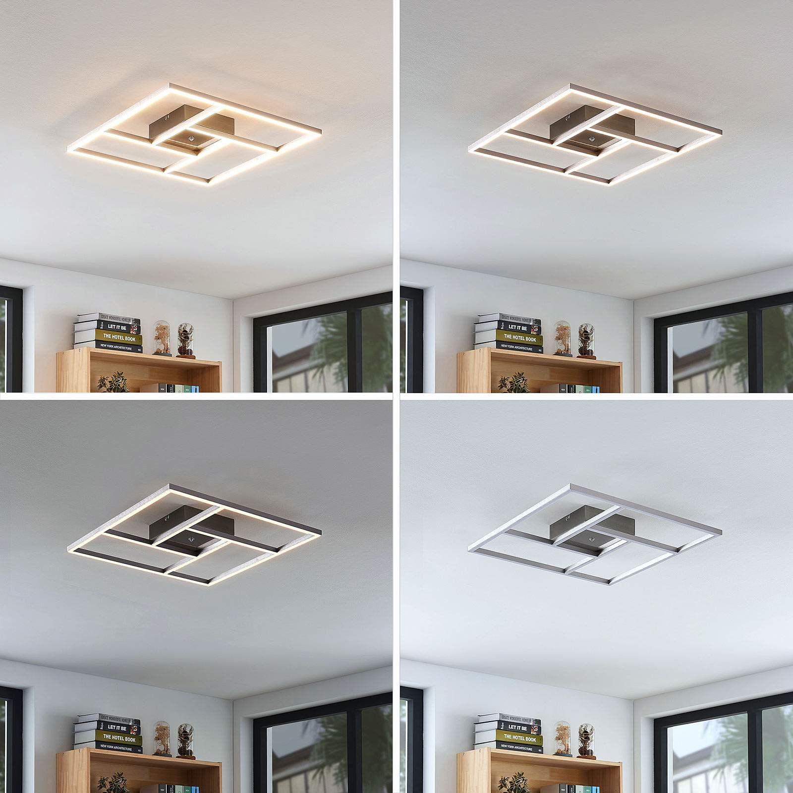 Moderne Deckenleuchte Von Lampenwelt Com Grau In 2020 Led Deckenlampen Deckenlampe Und Led
