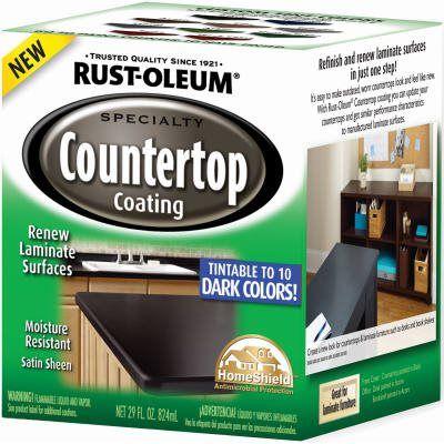 Rust Oleum Countertop Paint Qt Deep Tint Formula Model 254853