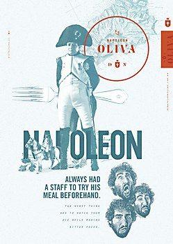 Du Napoleon Oliva Print Ads