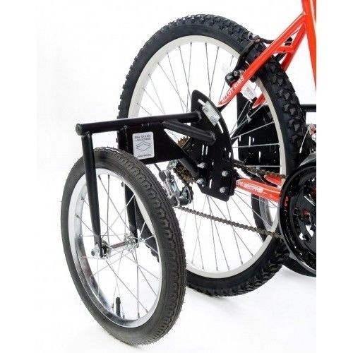 Adult Bike Training Wheels Set Heavy Duty Adjustable Kids Bicycle