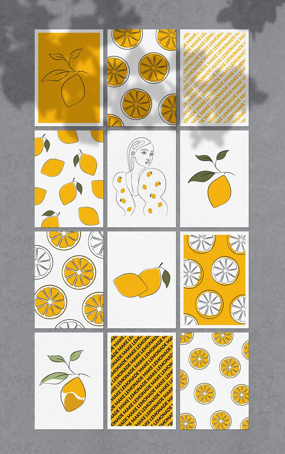 Women and Fruits Collection