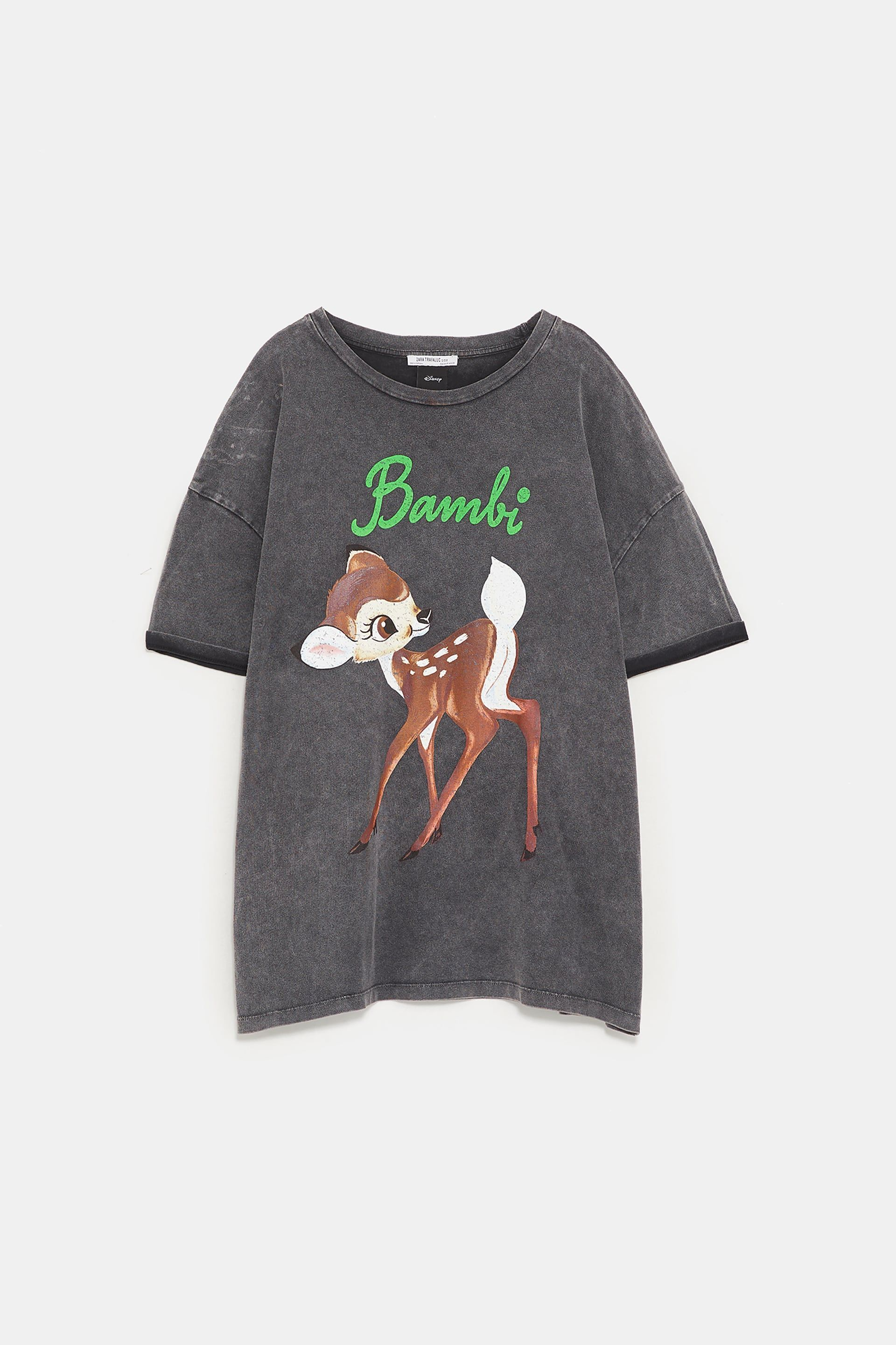 b3e24b392ff6 Image 8 of ©DISNEY'S BAMBI T-SHIRT from Zara | outfits in 2019 ...