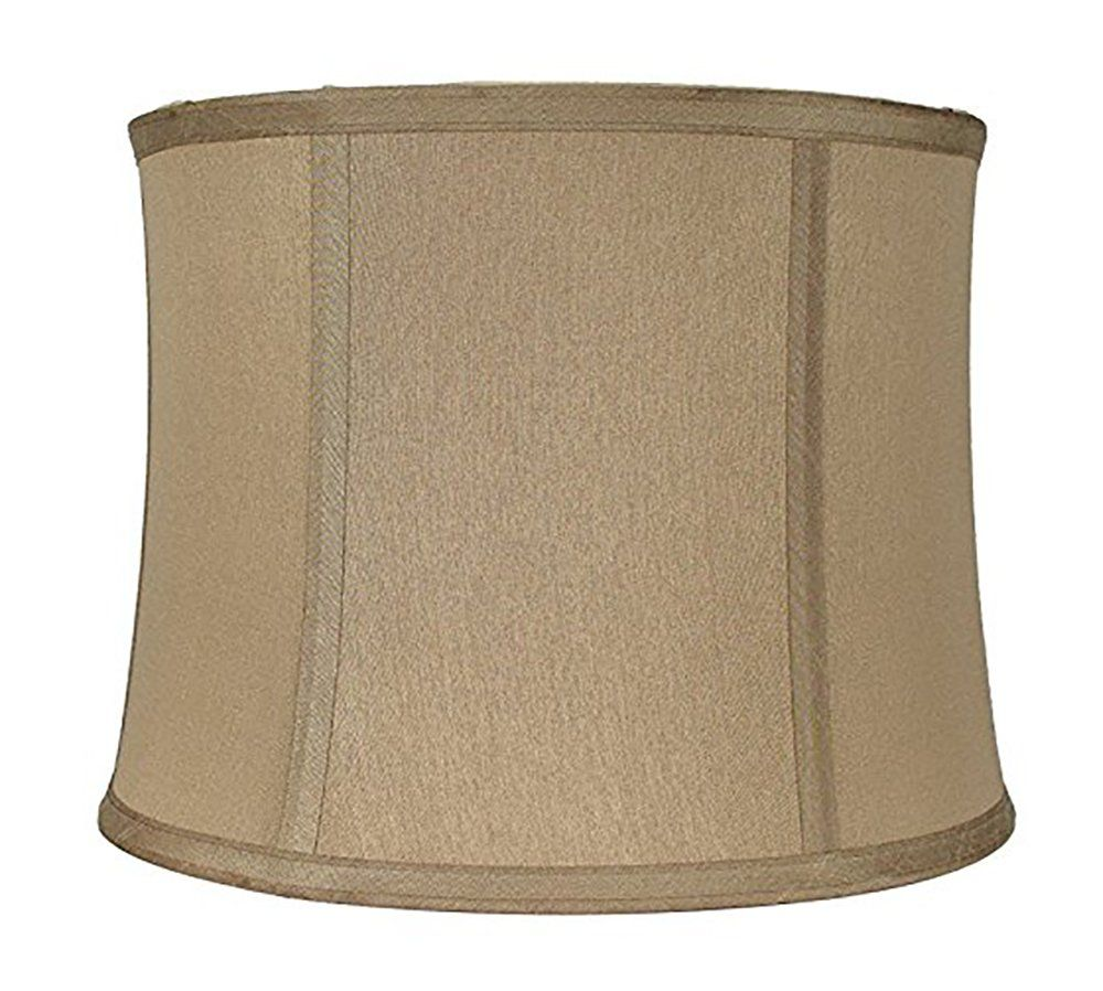 Urbanest Softback Drum Lampshade Faux Silk 11x12x9 Gold Taupe Spider More Info Could Be Found At The Image Url This Is An Drum Lampshade Faux Lampshades