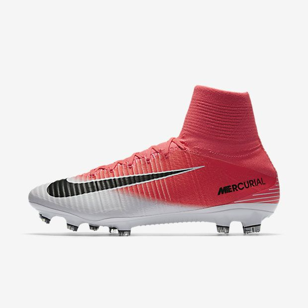red and black metal baseball cleats nike mercurial football boots