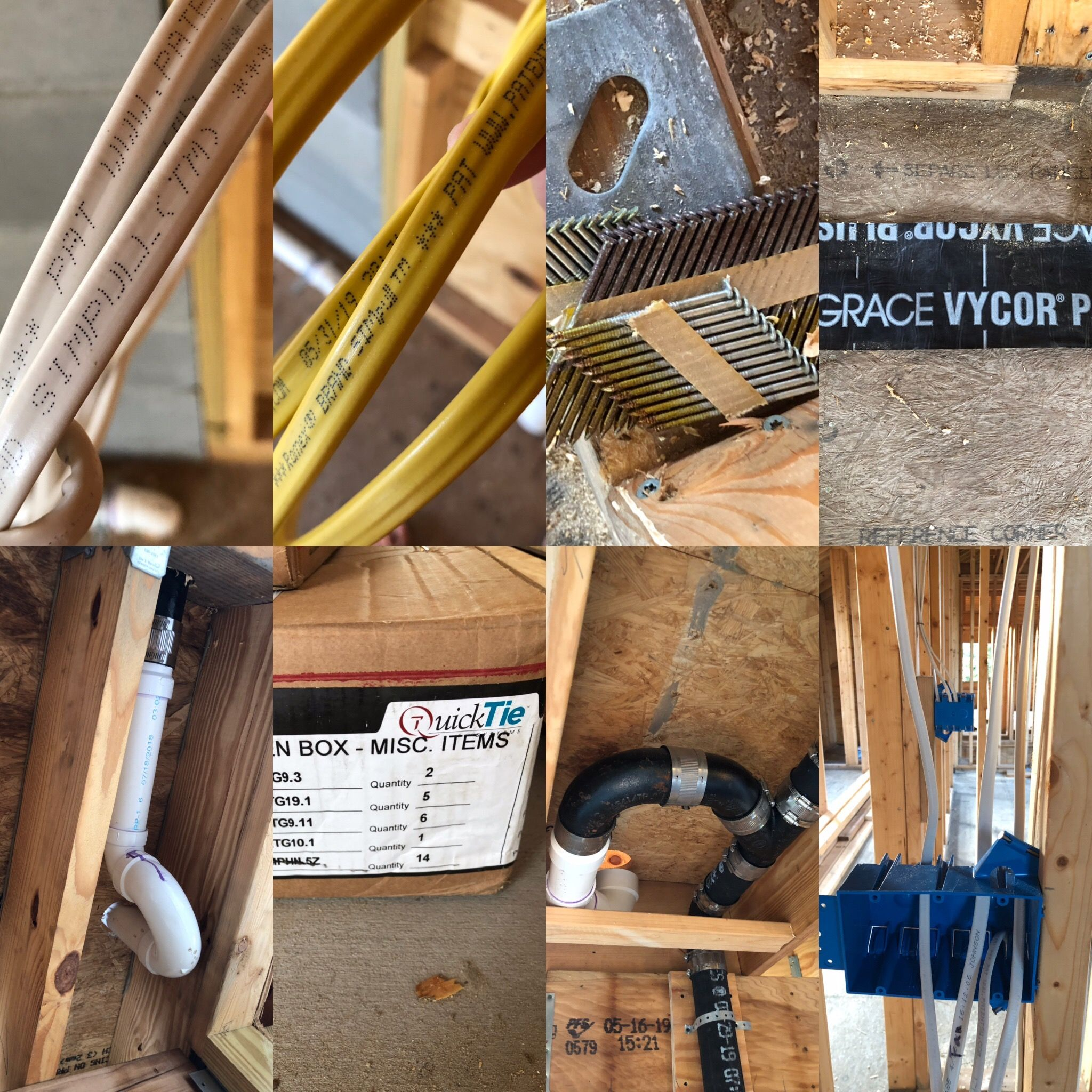 Plumbing And Electrical Material Etc Plumbing Electricity Items