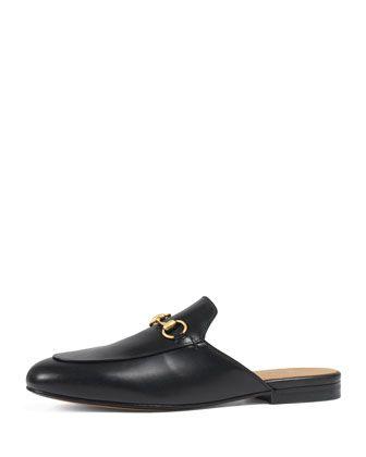 Gucci Princetown Leather Mule | Gucci