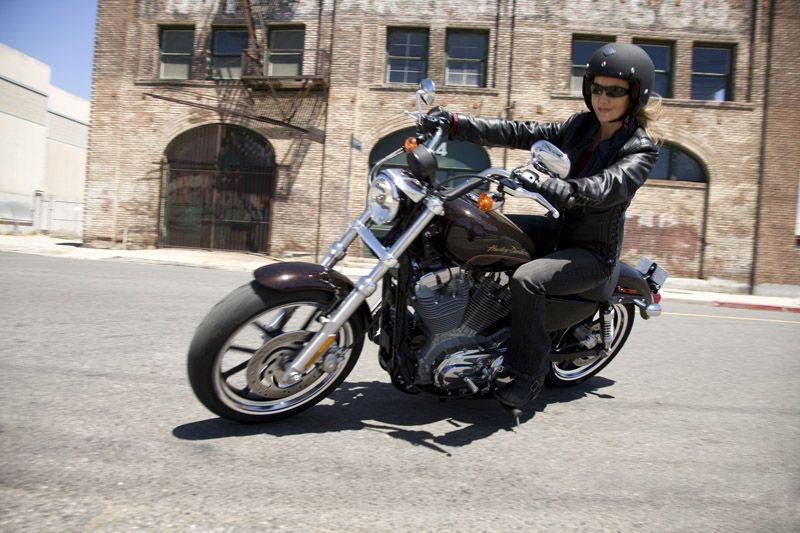 Top 10 Motorcycles Women Ride Harley Davidson Sportster Superlow