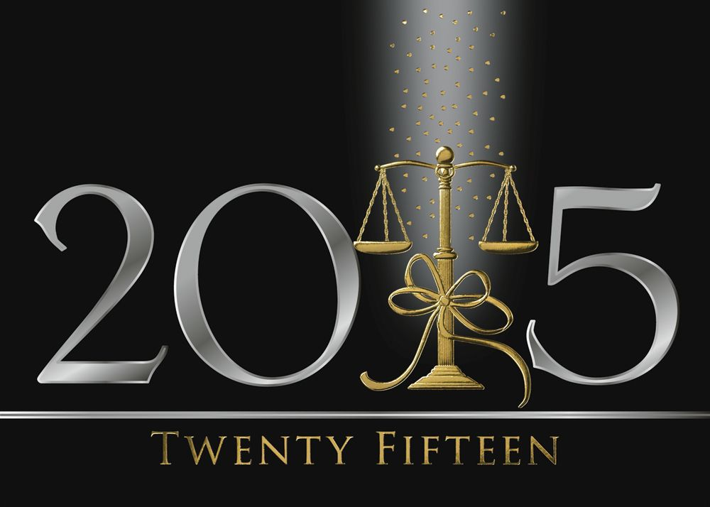 Lawful scales holiday greeting cards the scales of justice in happy new year 2015 greeting cards pouted online lifestyle magazine m4hsunfo