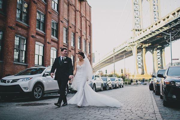 Beautiful photography with inspirational wedding backdrop by Cottonwood Studios