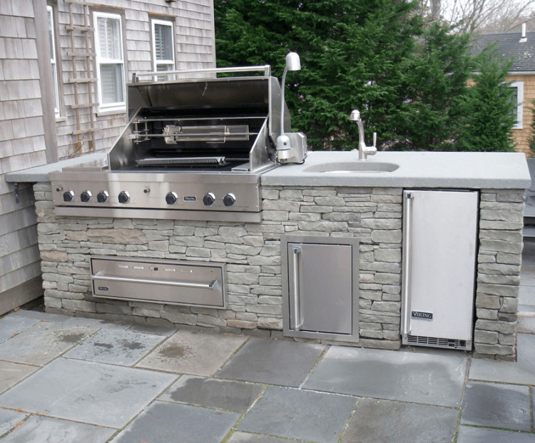 Outdoor Kitchen Island With Sink And Grill Outdoorkitchendesignsideas Outdoor Kitchen Island Outdoor Kitchen Design Outdoor Kitchen