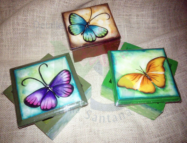 Cofres peque os pintados a mano cofres pintados a mano - Baules pintados a mano ...
