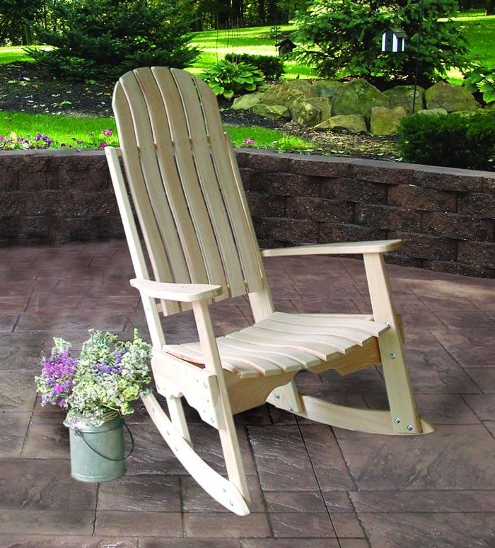 timeless design 8d31d b2683 Amish Cypress Outdoor Porch Rocker | Outdoor Rocking Chairs ...